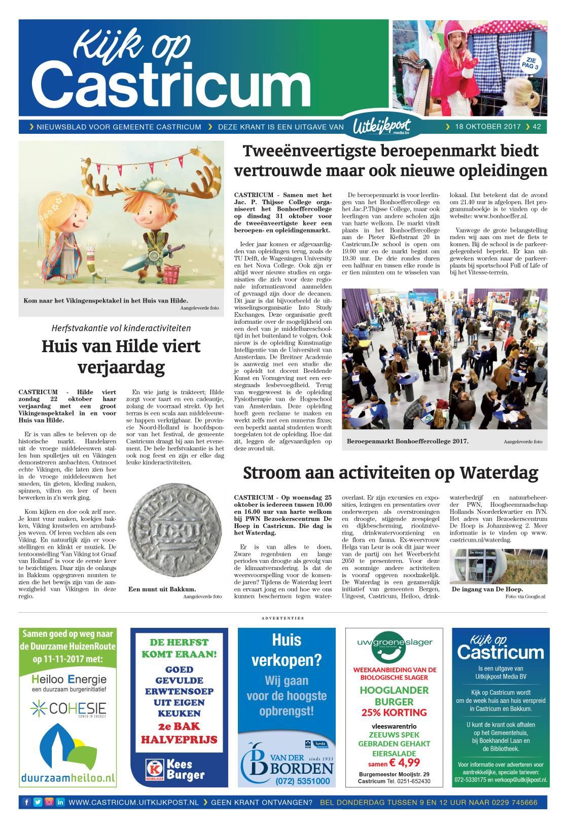Kijk op Castricum - Voorpagina